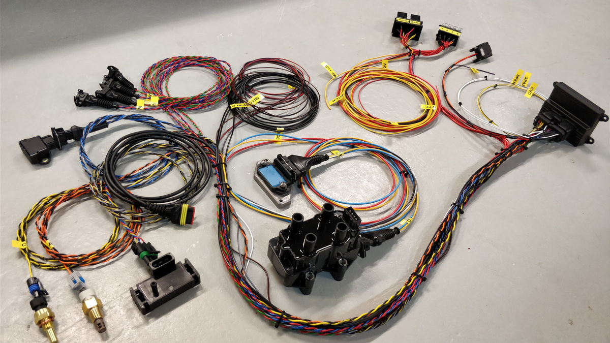 Microsquirt Wiring Harness All Inclusive 4cyl Protoparts Cost Reduction