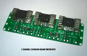Expansion board with three spark outputs