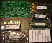 Relay card unassembled kit