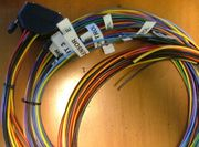 8-cylinder flying leads wiring harness