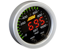 EGT gauge, AEM X-series