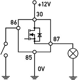 Solid State Relay, Hella 18/22A