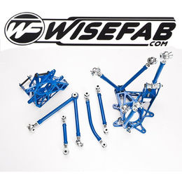 Wisefab Rear Knuckle Kit for Nissan 200SX S14, S14A, Silvia S15