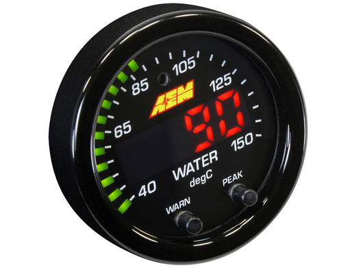 Coolant gauge, AEM X-series
