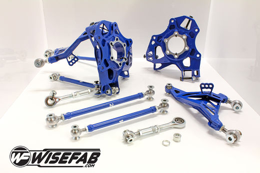 Wisefab Rear Knuckle Kit for Nissan 370Z