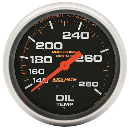 Autometer Pro-Comp oil temperature