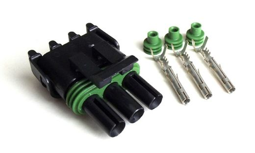 3-pin Weather Pack connector FEMALE