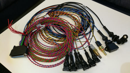 MS 8-cylinder full wiring harness