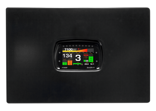 FT600 Dashboard ECU insert panel