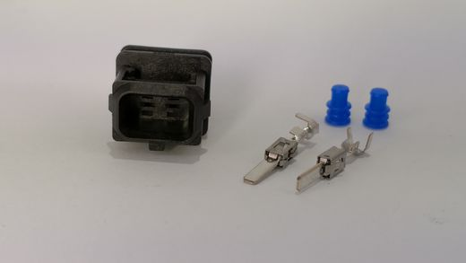 2-pin MALE Junior timer connector