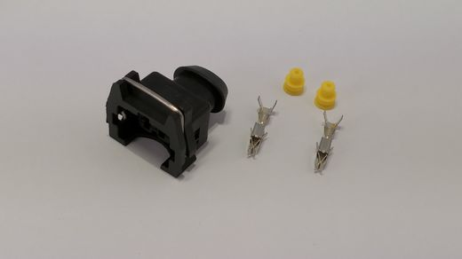2-pin Junior timer connector, short for EV1 injector