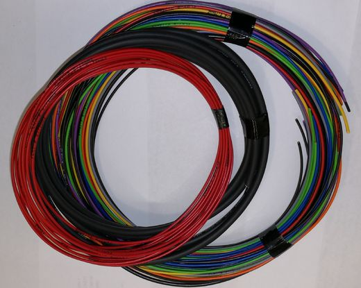 Bare leads set for basic wiring