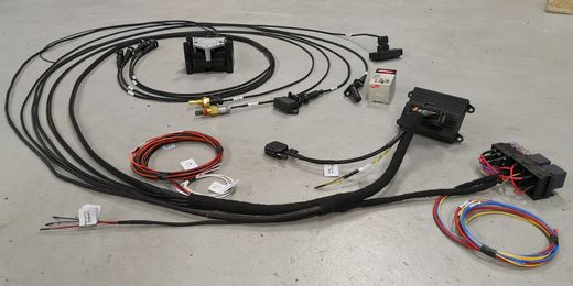 "Microsquirt ready wiring harness 4cyl ""All Inclusive Premium"" includes sensors & coil"