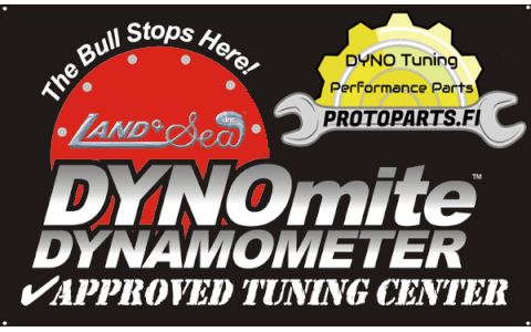 Power certificate on 2WD dyno
