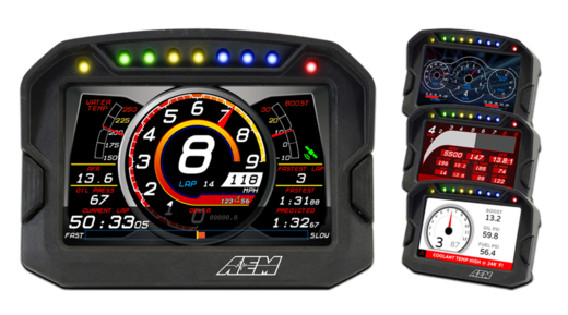 AEM CD-5L Digital Display w GPS