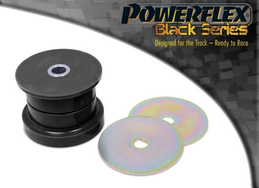 E46 Powerflex bushings rear diff mount, rear, black