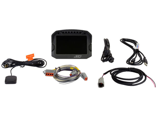 AEM CD-5LG Digital Display w GPS+Datalogging