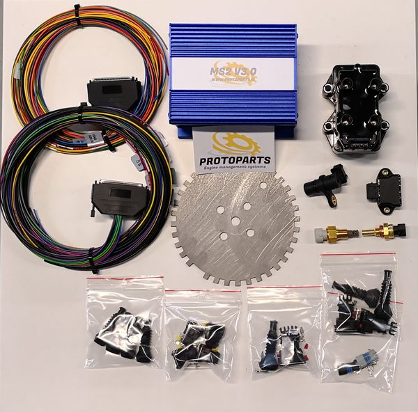 4cyl kit with injector connectors